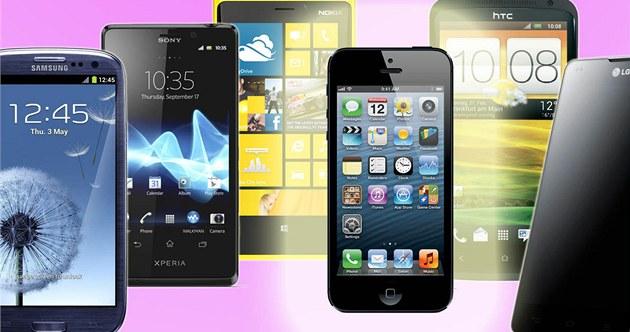 iPhone 5 je nejmen�ím top smartphonem sou�asnosti