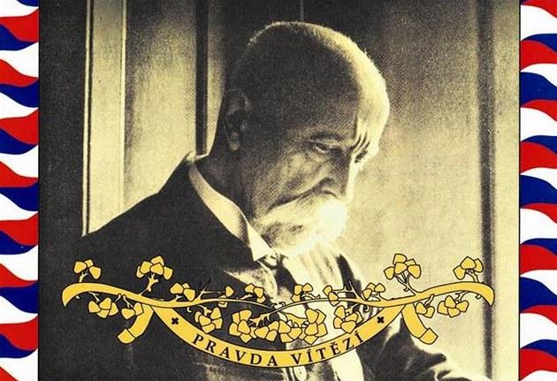 Obal dvojalba Hovory s T. G. Masarykem (repro)