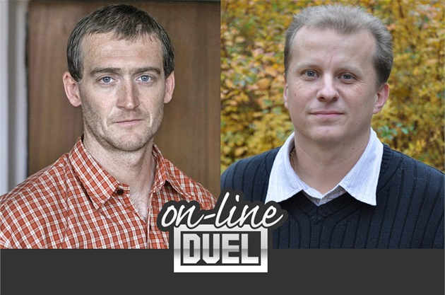 ON-LINE DUEL: Ladislav Tajovsk&#253;, ekonom a pedagog VE v Praze vs. Ji&#237; Trnka,