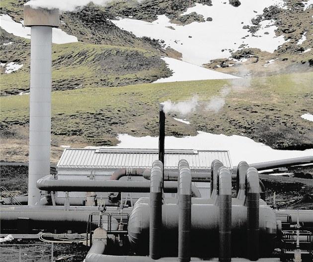 Geotermální elektrárny jsou populární t�eba na Islandu
