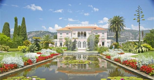 Villa Ephrussi de Rothschild byla postavená v letech 1905 a� 1912. Byla ve