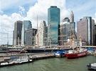 Finan�ní �tvr� (Financial District) le�í na samém ji�ním výb�ku Manhattanu....