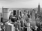 Pohled z Top of The Rock kjihu. Krom� obligátního Empire State Building si...