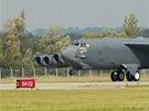 Americký bombardér B-52 v Ostravě