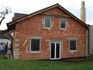 Dům během rekonstrukce