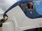 Vlak se dá ovládat ze dvou kabin.