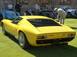 Concours of Elegance ve Windsoru:  Lamborghini Miura SV (1972)