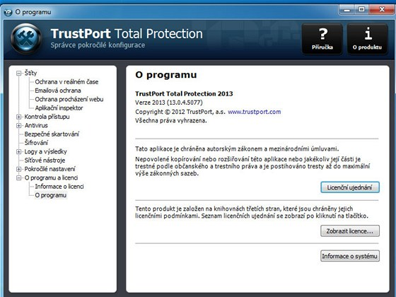 TrustPort Total Protection 2013