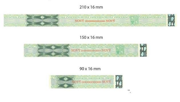 Podobu nových kolk� ukazuje Sbírka zákon� �R.