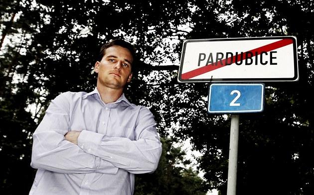 Petr Králíček - starosta obvodu Pardubice Svítkov.