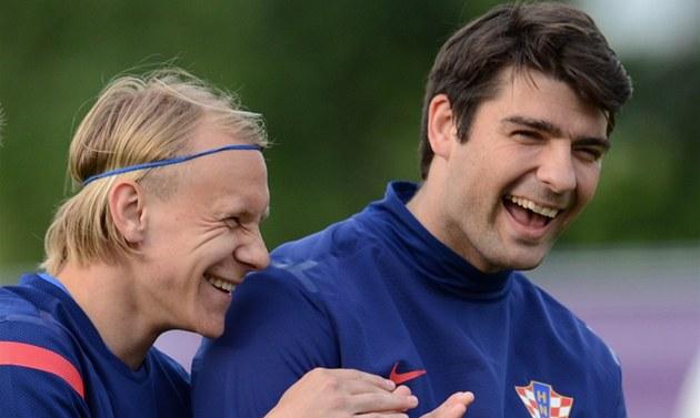 Chorvatského fotbalistu Domagoje Vidu po verdiktu klubového vedení smích ur�it�