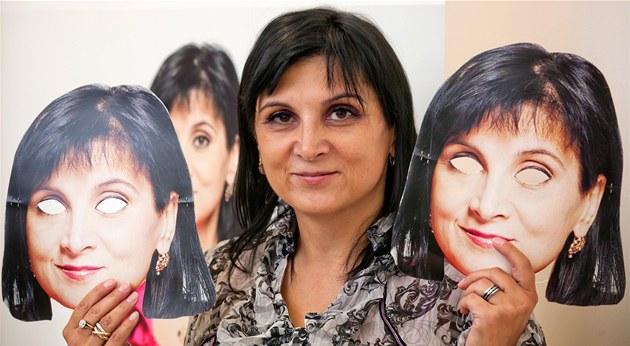 Advokátka Klára Samková ohlásila kandidaturu na prezidenta �R (25. zá�í 2012,