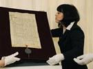 Vystavení Zlaté buly sicilské v Národním archivu v Praze 4 (24. září 2012)