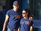 Ashton Kutcher a Mila Kunisová fandí stejnému týmu.