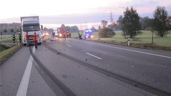Na silnici I/11 poblíž Týniště se po modernizaci stalo jen několik nehod, hlavně díky nadstandardní šířce vozovky.