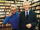 Režisér Radim Špaček s otcem Ladislavem, který je znám hlavně jako mluvčí Václava Havla.