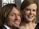 Nicole Kidmanová a její manžel, country zpěvák Keith Urban (2011)
