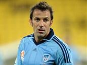 PREMIÉRA. Alessandro del Piero nastoupil poprvé po odchodu z Juventusu v australské lize za Sydney FC. Debut mu však nevyšel, jeho tým prohrál s Wellingtonem 0:2.