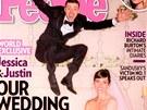 Justin Timberlake a Jessica Bielová prodali své svatební fotografie časopisu People.