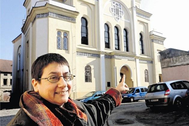 Pradědeček Jane Vogel-Kohelové byl rabínem v žatecké synagoze.
