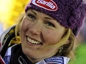 Americká sjezdařka Mikaela Shiffrinová