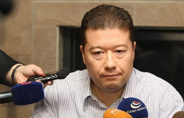 Senátor Tomio Okamura, kterého ministerstvo vnitra vy�krtlo ze seznamu