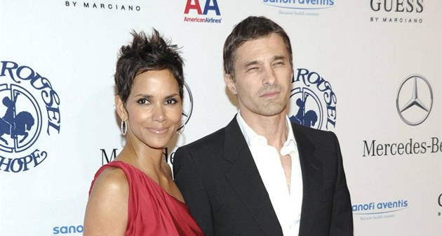 Halle Berry a Olivier Martinez