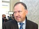 Bývalý ředitel pražských strážníků Vladimír Kotrouš u Městského soudu v Praze (26. listopadu 2012)