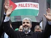 Šéf hnutí Hamas Chálid Mišal přijel do Pásma Gazy vůbec poprvé. Na palestinské území se vrátil po 37 letech.