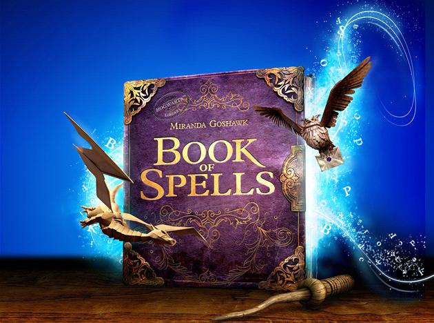 Wonderbook: Book of Spells. Kniha kouzel. Svět kouzel je nadosah.