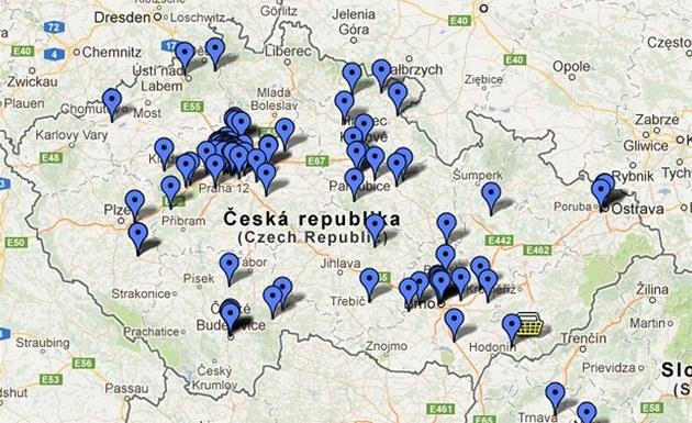 Šipky na mapě České republiky přibývají raketovým tempem.