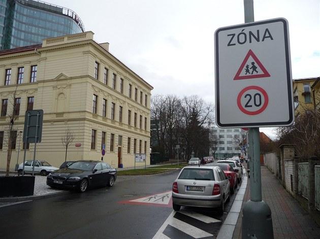 Nová zna�ka v Baarov� ulici
