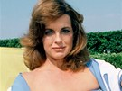 Linda Grayov� jako Sue Ellen v dob�, kdy jej� postava bojovala se z�vislost� na alkoholu.