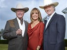 Larry Hagman, Linda Grayov� a Patrick Duffy (2011)