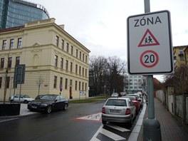 Nová značka v Baarově ulici