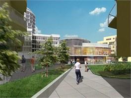 Vizualizace centra U Dubu nejsou ještě finální a dojde k jejich úpravě.