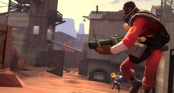 Ilustrační obrázek z Team Fortress 2