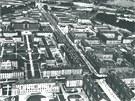Havířov se také mohl jmenovat Šachtín nebo Horníkograd. Pohled z roku 1958 na nejstarší část města.