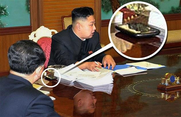 Tajemný smartphone severokorejského v�dce Kim �ong-una