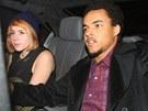 Adoptivní děti Toma Cruise a Nicole Kidmanové Isabella a Connor (23. ledna 2013)