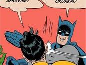 Batman nedostal okurku.