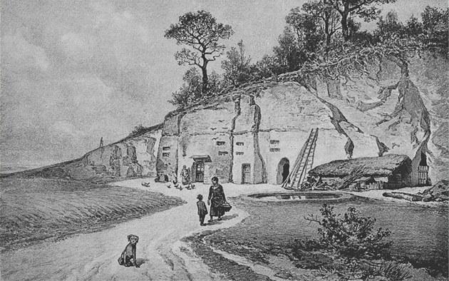 Ve Vidouli se ji� d�íve bydlelo ve skalních bytech. Develope�i cht�jí vrátit