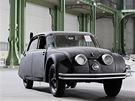 Tatra 77 na aukci společnosti Bonhams v Paříži v roce 2013