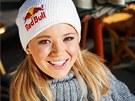 ÚSMĚV, PROSÍM. Němka Miriam Gössnerová zatím před středečními závody dojela na mistrovství světa nejlépe šestá ve sprintu.