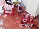 D�n�t� studenti demolovali za��zen� hotelu zna�n� posiln�ni alkoholem.