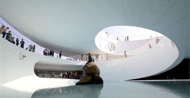 Dánský pavilon pro Expo 2010 v �anghaji