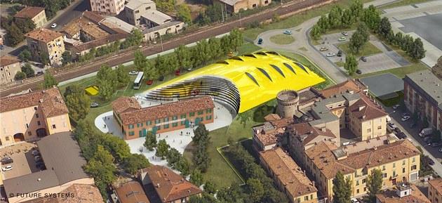 Muzeum Enza Ferrariho bylo slavnostn� otev�eno v Moden� v b�eznu 2012.