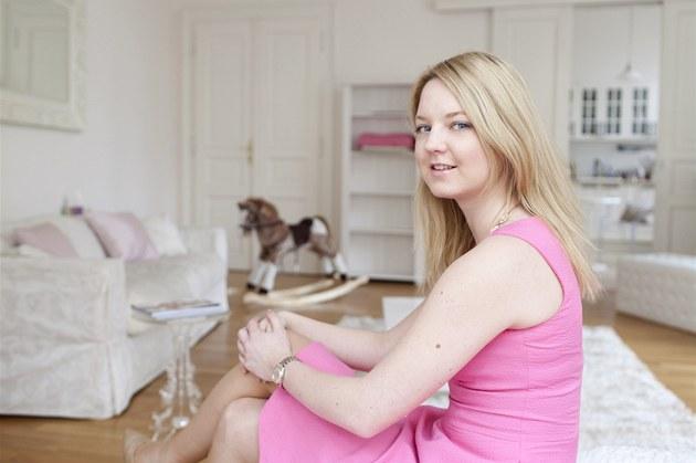 Karolína Milerová nedává p�ednost luxusnímu nábytku. Za�ízení bytu koupila v...