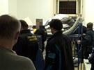 Zátah inspekce v souvislosti s distribucí steroidů ve věznici Mírov.