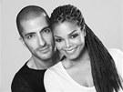 Wissam Al Mana a Janet Jacksonová (2012)